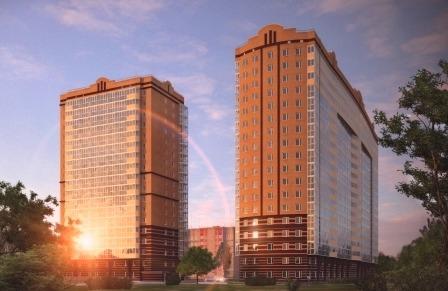 Современные административные здания и обои в Одессе