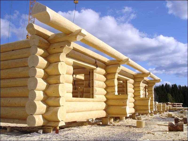 Как построить сруб дома?
