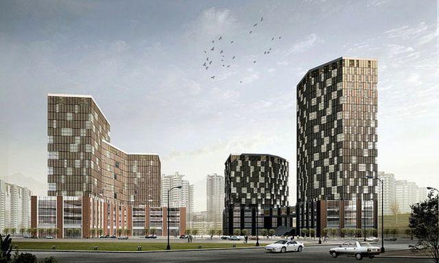 Современные здания и сооружения