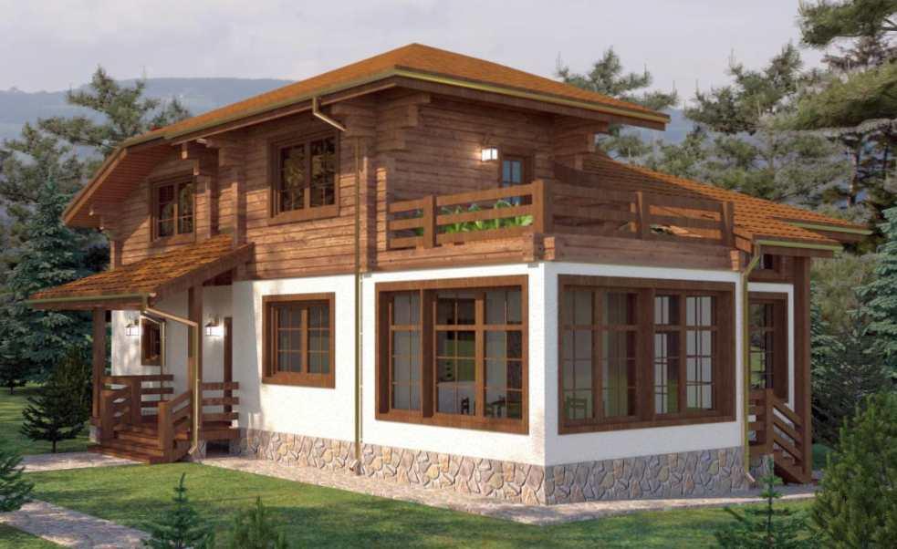 Почему клееный брус оптимален для строительства капитального дома?