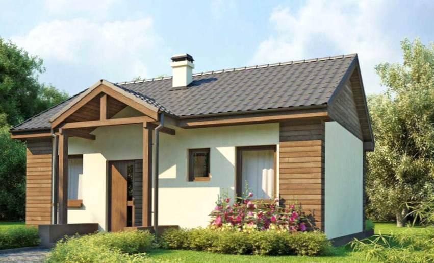 Проекты домов из бруса и сип панелей