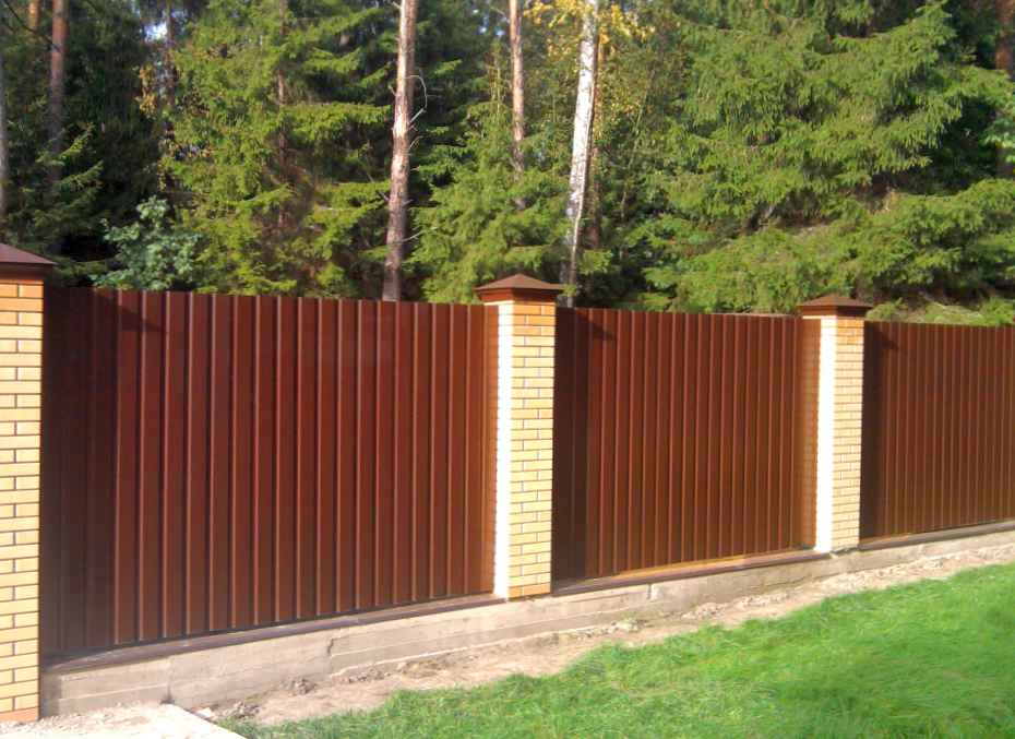 Где заказать забор из профнастила в Ногинске?