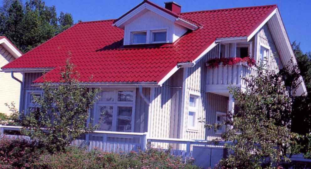 Металлочерепица RUUKKI — это эталон финского качества.