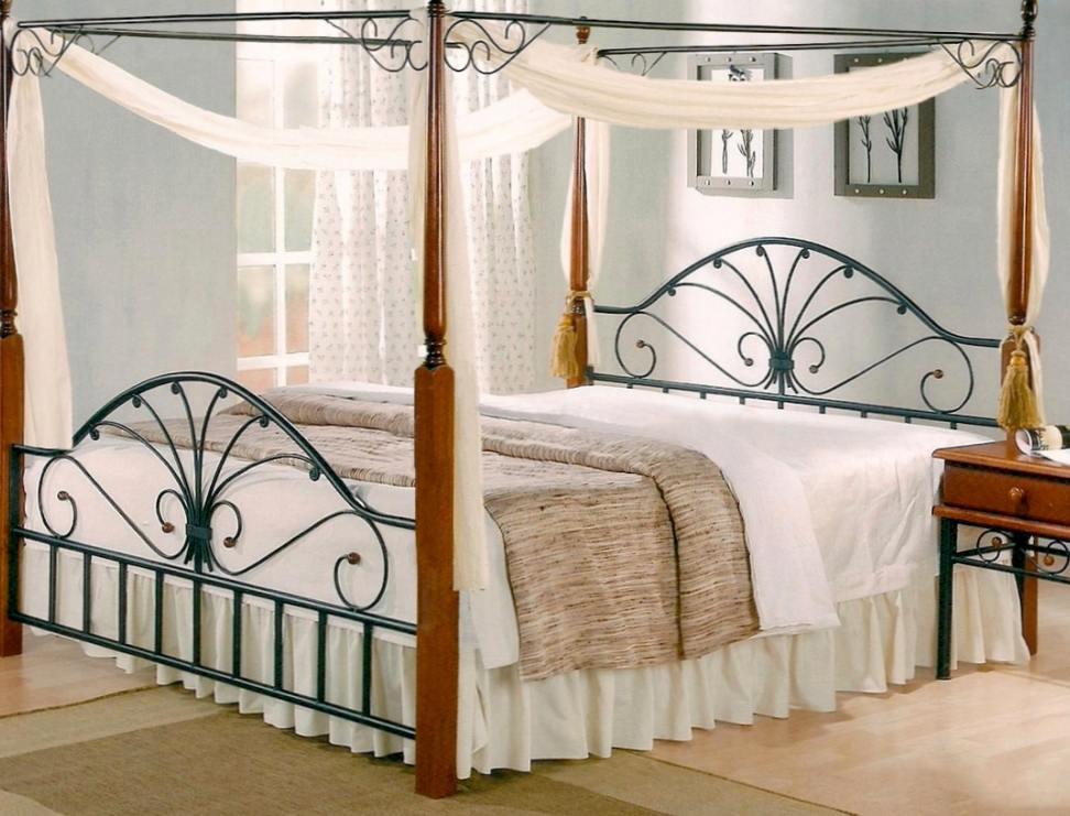 Где сделать заказ на кованные кровати?