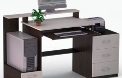 Как выбрать подходящий вариант компьютерного стола?