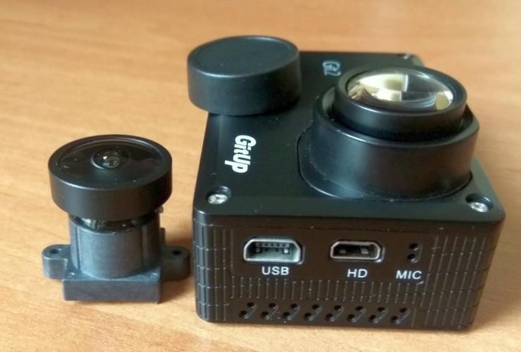 Что такое экшн камера без рыбьего глаза?