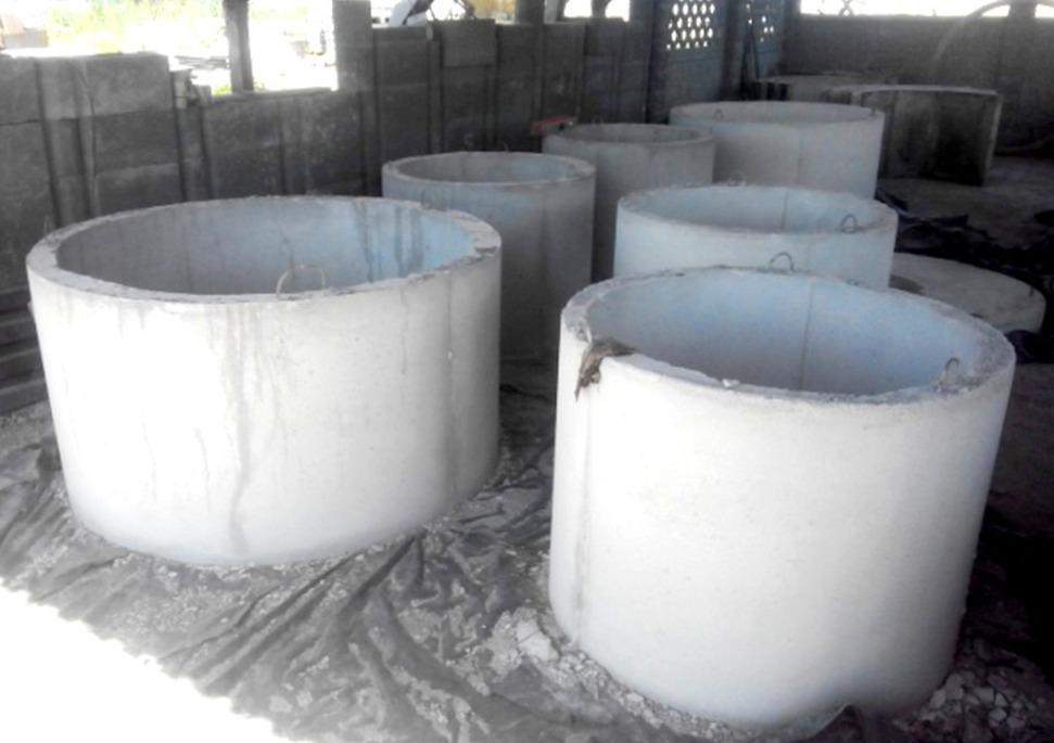 Где применяются бетонные кольца для колодцев?