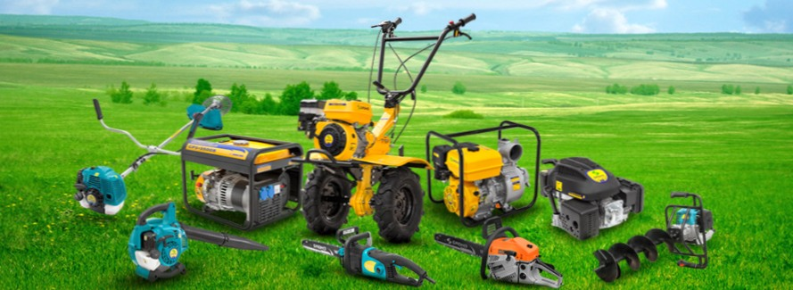 Где стоит выбирать садовую технику?