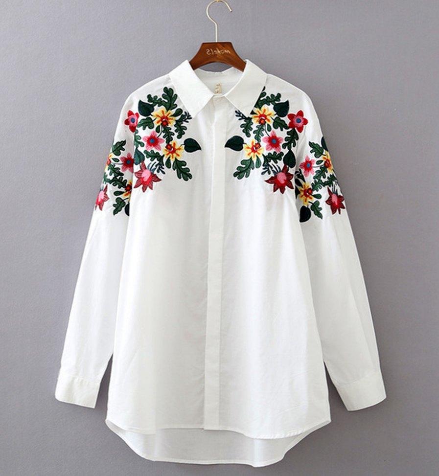 С чем можно носить этническую блузку?