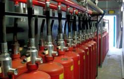 Как организовать газовое пожаротушение?