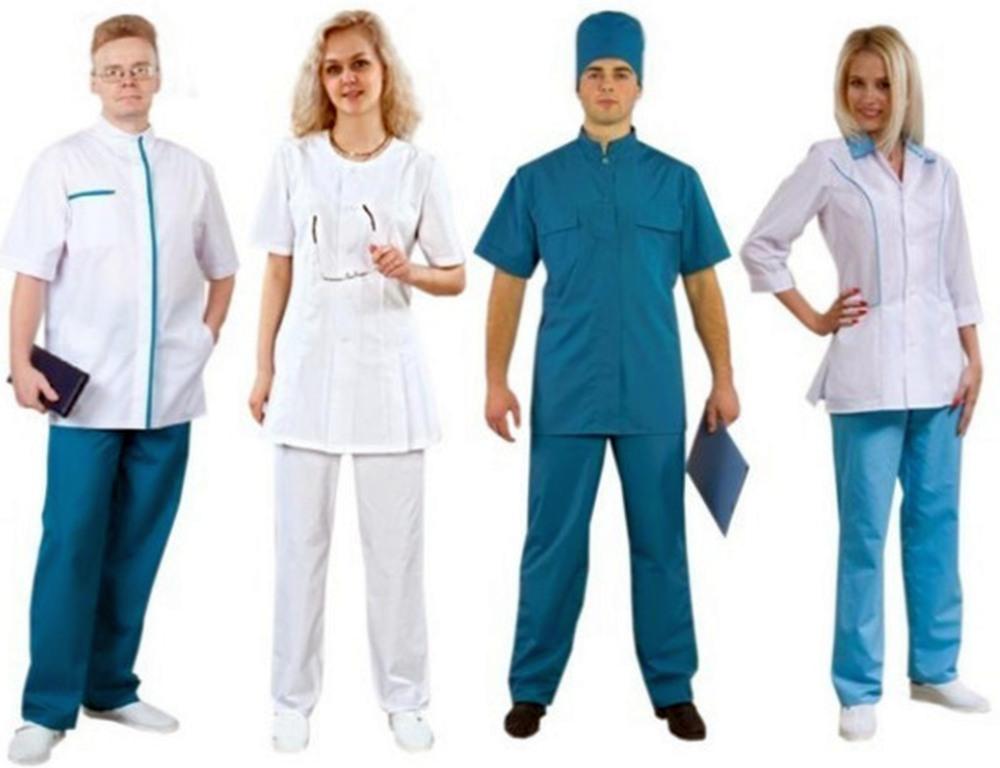 Где медицинская одежда предлагается в широком ассортименте?